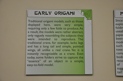 3a - Early Origami Sign