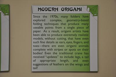 3b - Modern Origami Sign