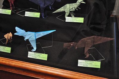5b - Origami Tyrannosaurs Close-up 1