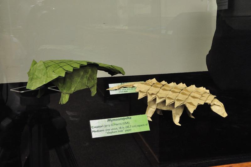 11a - Origami Ankylosaurs 2
