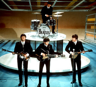 "**  FILE  **  In this Feb. 9, 1964 file photo, The Beatles perform on the CBS ""Ed Sullivan Show"" in New York. (AP Photo, file)   Original Filename: Music_Beatles_Video_Game_NYET156.jpg"