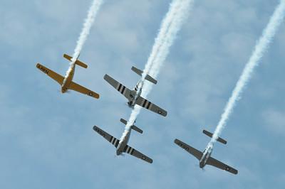 Warbirds overhead