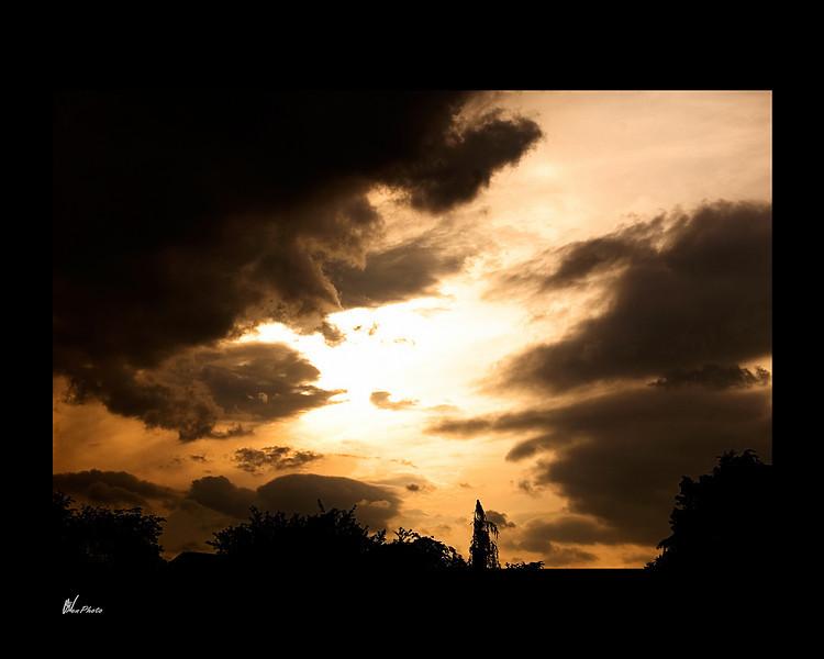 Day 029: Golden Sunset