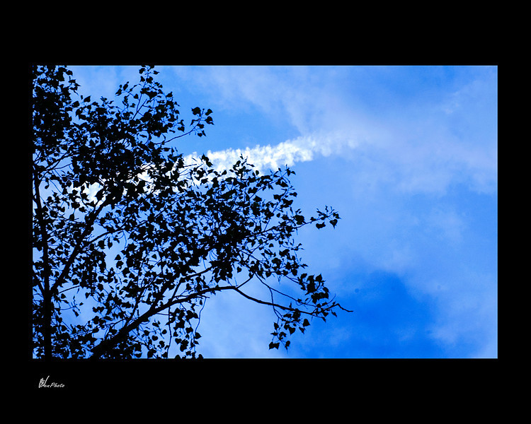 Day 038: Trail in the Blue Sky