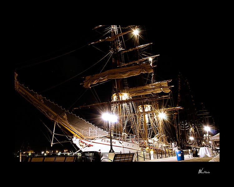 Day 076: Tall Ship at Night