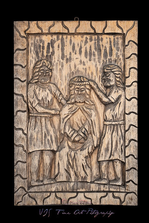 The Crowning with Thorns Naive Bas Relief