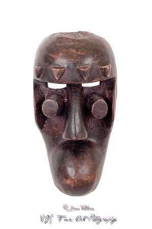 Grebo African mask
