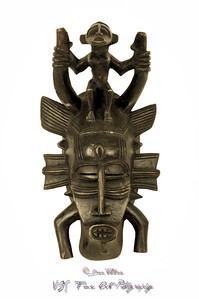 Senufo African mask