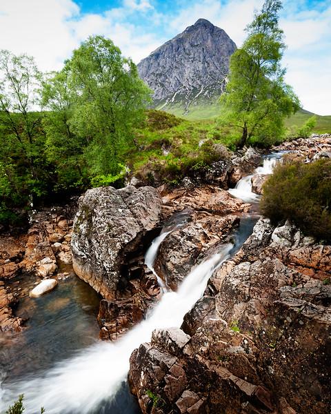 BUACHAILLE ETIVE MOR, THE HIGHLANDS OF SCOTLAND, GLEN COE.