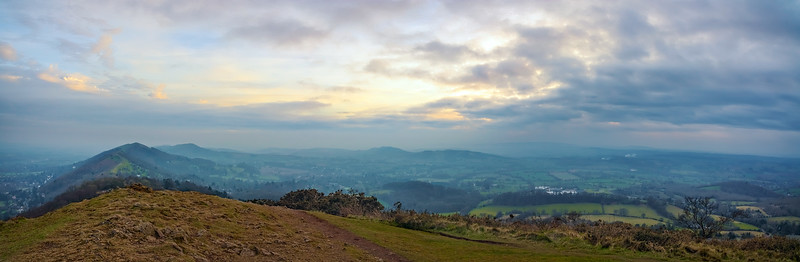 The Malvern Hills, England, UK.