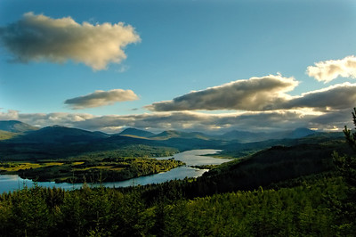 Loch Garry, The Highlands, Scotland.