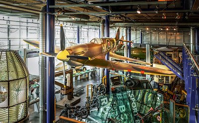 SPITFIRE AT THINK TANK IN BIRMINGHAM, UK
