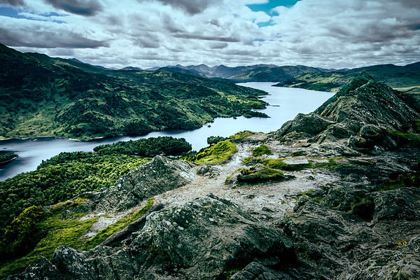 Ben Aan, Loch Katrine, The Trossachs, Scotland