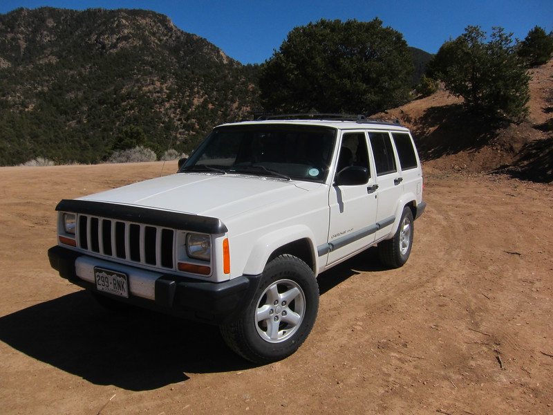 My free Jeep Cherokee Sport