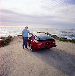 Porsche 944 on 17 Mile Drive