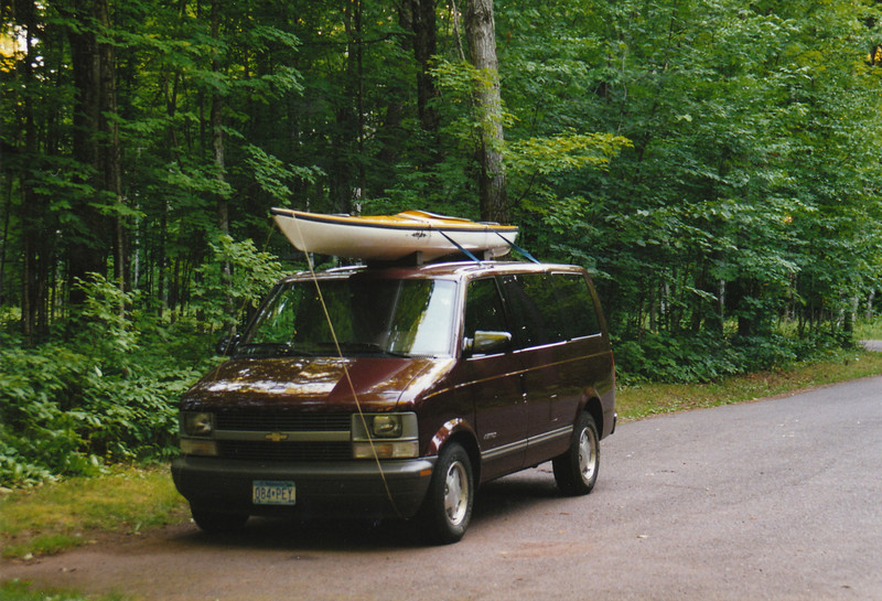 My first Astro van, about 1995?