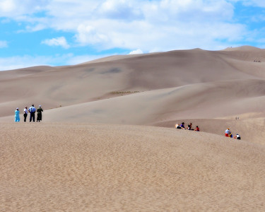 The Great Sand Dunes...Alamosa,Colorado