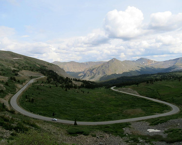 "Where in Colorado???  The news channel KKTV 11 has a segment called  ""Where in Colorado""...they chose this pic of mine for it tonight...they will air the answer along with the pic in the morning!  Anyways....the answer is....Cottonwood Pass!!"