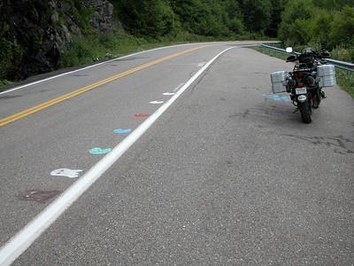 Hwy. 143 below Carver's Gap, TN.