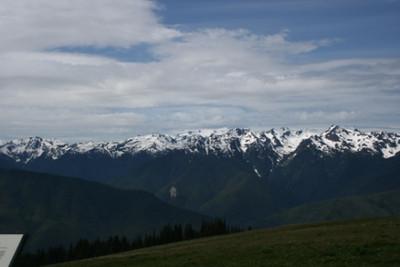 Summit @ Olympia Mountains Washington, USA July 2007