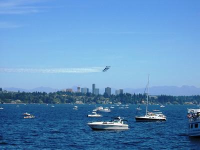 Blue Angels @ Seafare 2007 Lake Washington Washington, USA July 2007