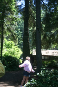 Deb @ Deception Point Whidbey Island, Washington, USA July, 2007