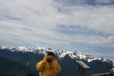 Mike & Camera Summit @ Olympia Mountains Washington, USA July 2007