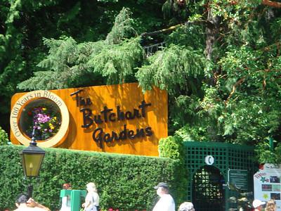 Butchart Gardens Victoria, British Columbia July 2007