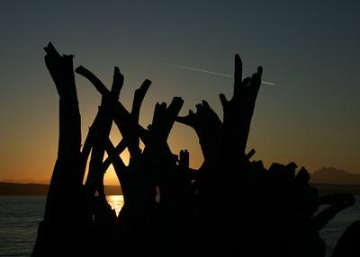 Sunrise @ Sandy Point Whidbey Island, Washington, USA July, 2007