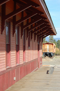 Depot and Caboose