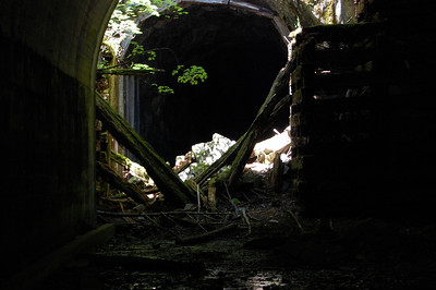 Collapsed Tunnel
