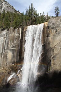Vernal Falls in Yosemite National Park, our annual visit was a big event  when we finally hiked to Nevada Falls this year.