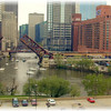 View from my office when I worked downtown.  One of my favorite pictures, Larry Trzaskus