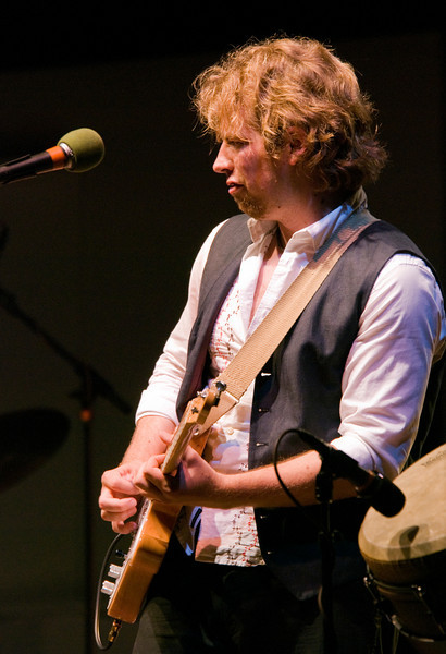 Guitarist Colter Harper with Rusted Root