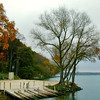 Autumn, Green Lake WI.  <br /> <br /> One of my favorite pictures, Larry Trzaskus