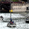 Watercolor effect, Chicago river.<br /> <br /> One of my favorite pictures, Larry Trzaskus