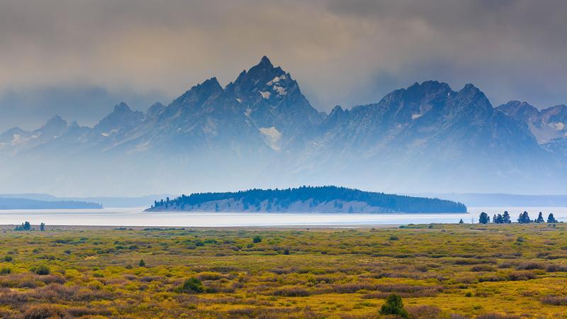 Foggy Tetons, Grand Tetons National Park, WY