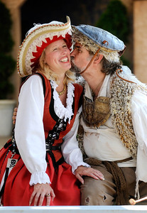 Mary Ann Jung and Tom Plott met at the Renaissance Festival 20 years ago and it was love at first sight. They still continue to work there together. (Photo by Shannon Lee Zirkle - The Capital) 10/3/09
