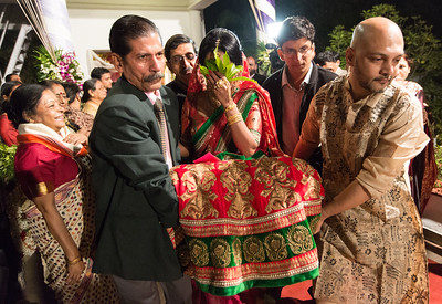Rim Mukhopadhyay and Utkarsh Singhania wedding held at The Garden Terrace in the Taj Bengal, Alipore, Kolkata.