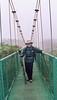Yep, it's me on the suspension bridge through the rain forest canopy in Costa Rica.