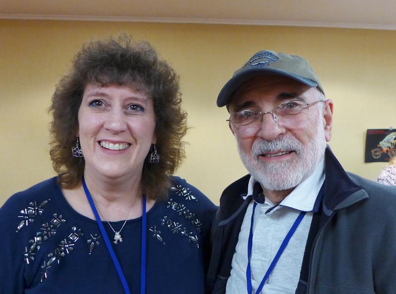 Lisa Cuchara and Dave