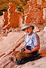 Me at Two Story Ruin.   Photo taken by my guide Vaughn Hadenfelt