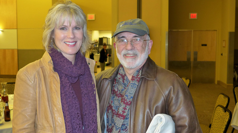 Deborah Sandidge and myself.  March, 2013