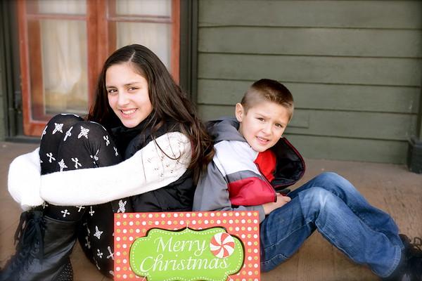 My Kids Holiday Card 2013