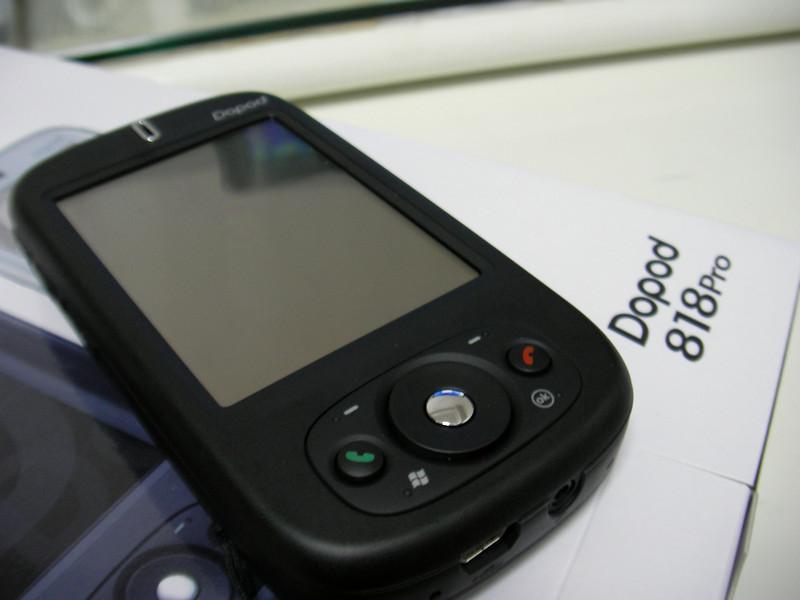 SANY0009 <br /> My New Toy - Dopod 818 Pro