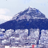 Athens 1973 Mt. Lycavitos (Chapel of St. George)