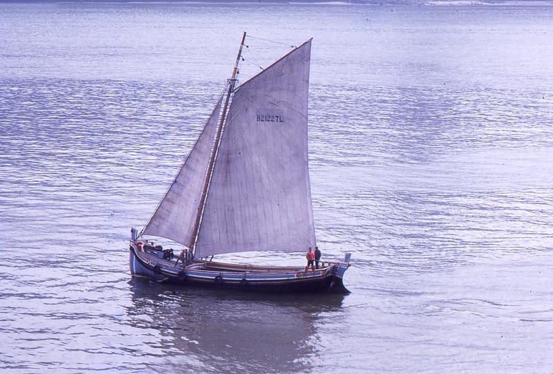 Fishing boat, Lisbon, 1973
