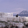 Acropolis, (Mt. Lycavitos in background) Athens,1973