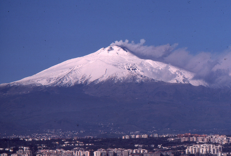Mt Etna (from Catania) 1976