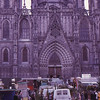Barcelona cathedral, Christmas 1972